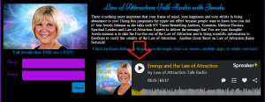 Mona Law of attraction radio network